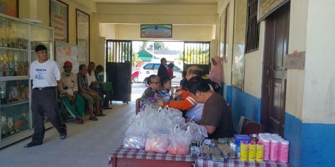 Kegiatan Komunitas Cinta Anak Negeri di Kelurahan Pahandut